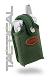 Rugged Tactical Military Green Cordura Small Pouch