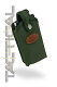 Rugged Tactical Military Green Cordura Super Slim  Pouch